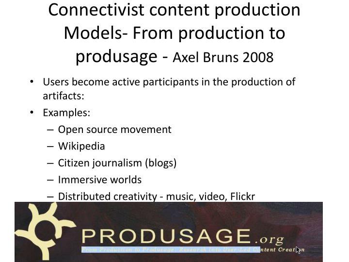 Connectivist