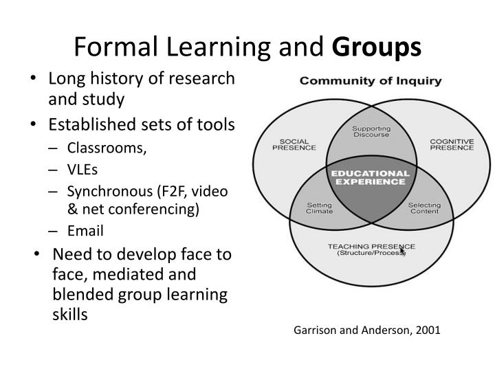 Formal Learning and