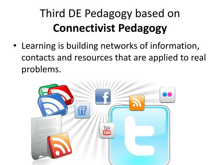 Third DE Pedagogy based on