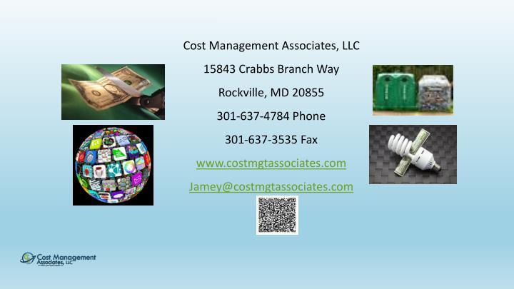 Cost Management Associates, LLC