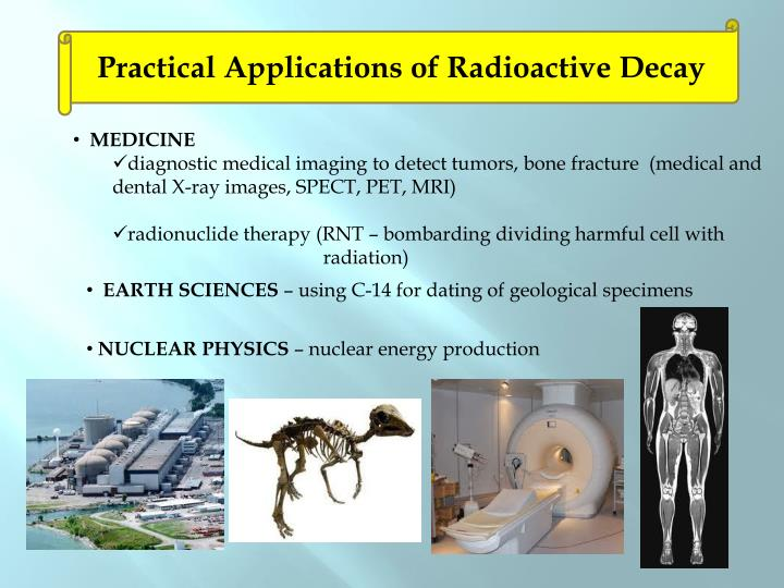 Practical Applications of Radioactive Decay