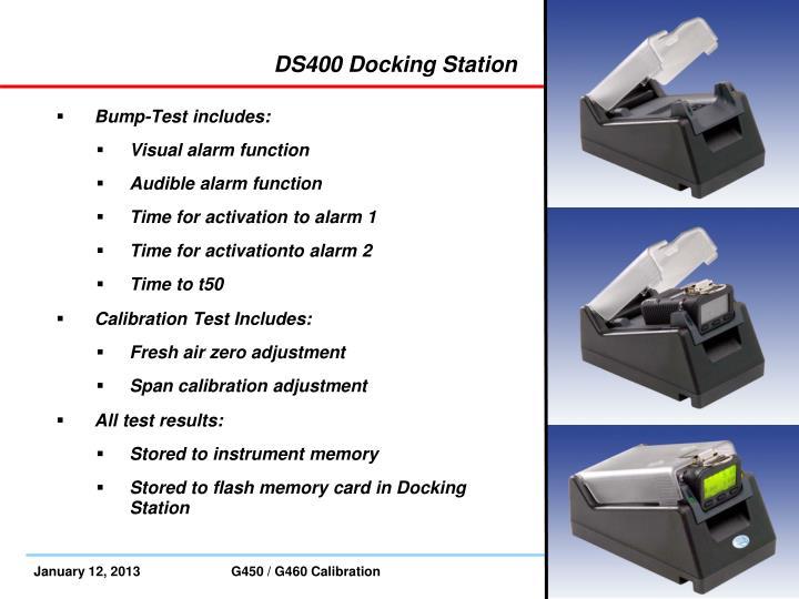 DS400 Docking Station