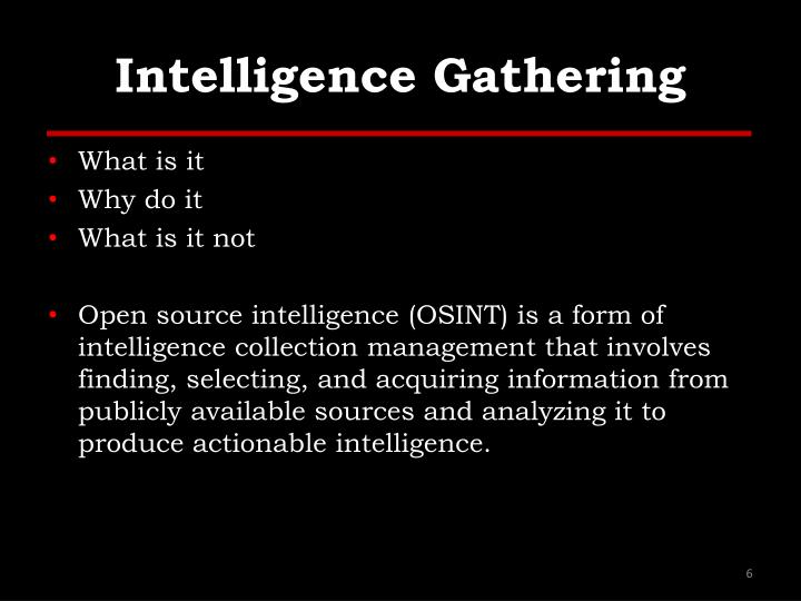 intelligence gathering and information interpretation essay Intelligence analysis in a cycle the intelligence cycle is a concept that describes the general intelligence process in both a decryption, and interpretation.