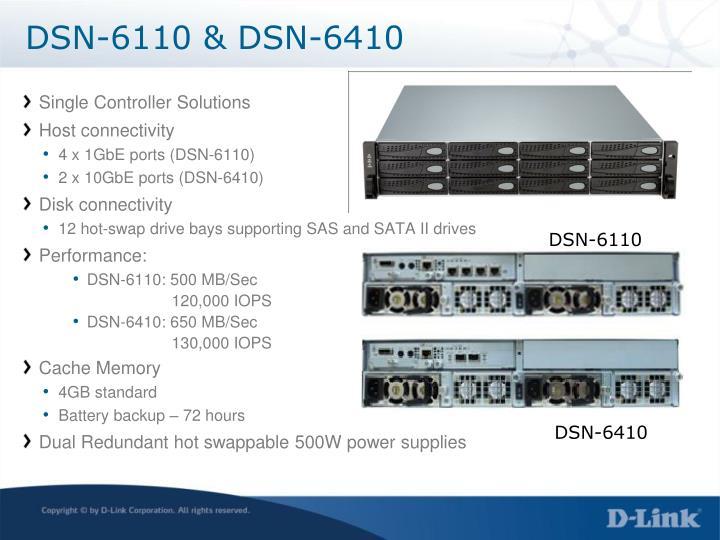 DSN-6110 & DSN-6410