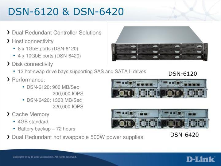 DSN-6120 & DSN-6420