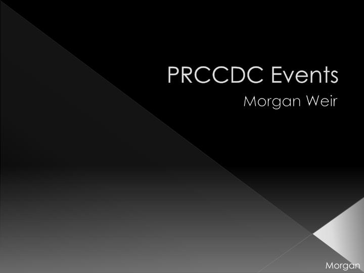 PRCCDC Events