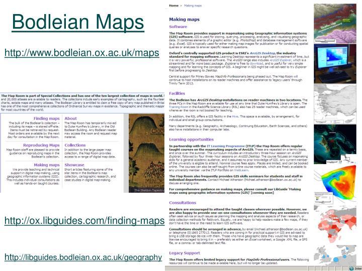 Bodleian Maps