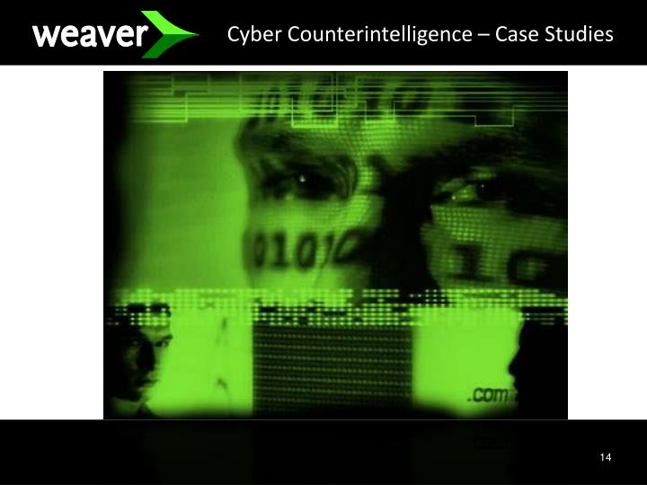 Cyber Counterintelligence – Case Studies