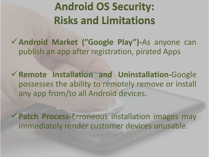 Android OS Security: