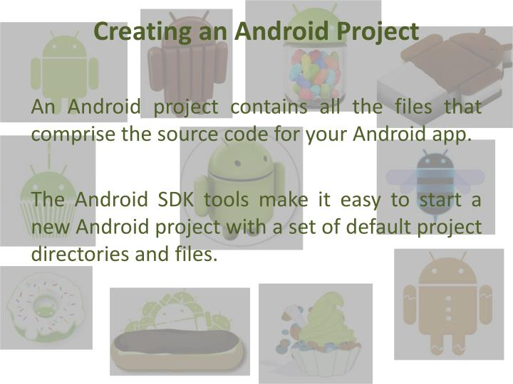Creating an Android Project