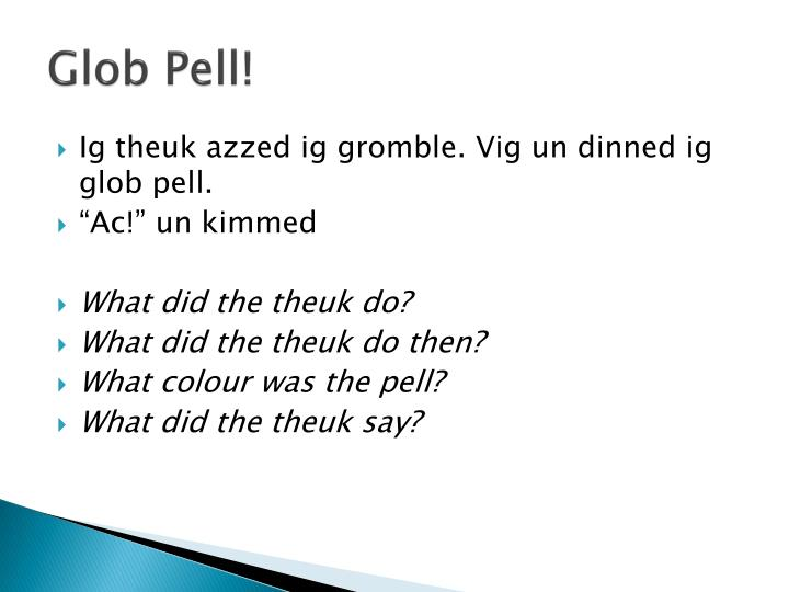 Glob Pell!