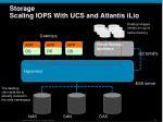 storage scaling iops with ucs and atlantis ilio