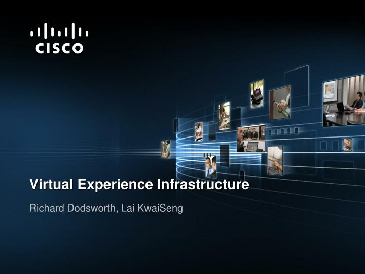 Virtual Experience Infrastructure