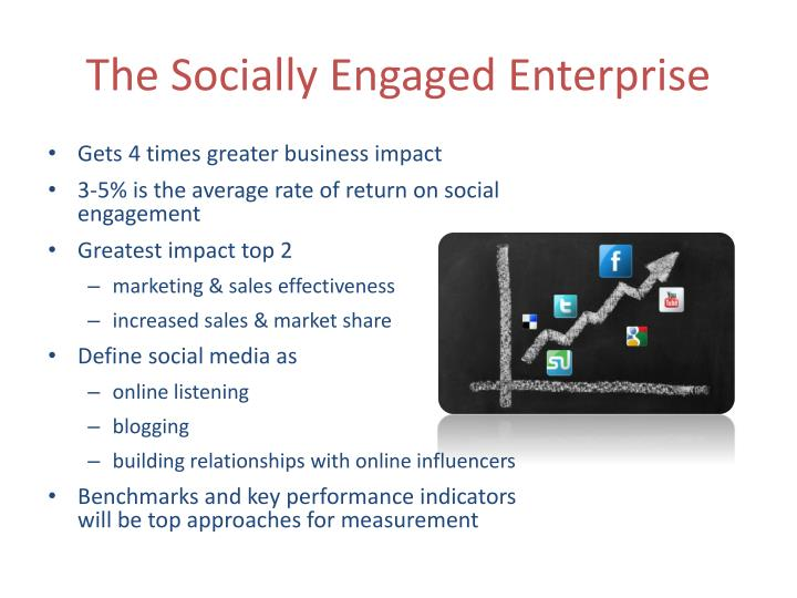 The Socially Engaged Enterprise