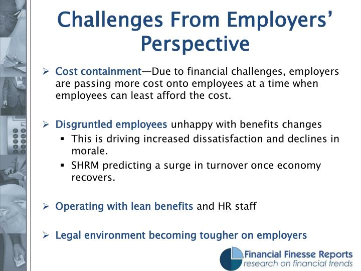 Challenges From Employers' Perspective