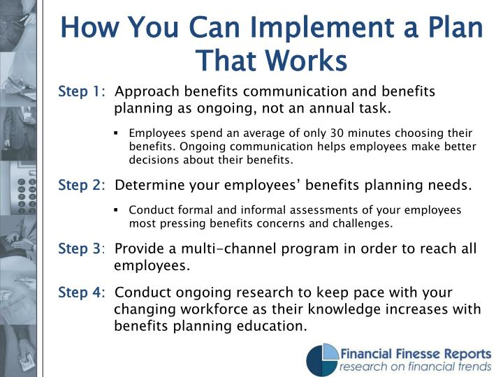 How You Can Implement a Plan That Works