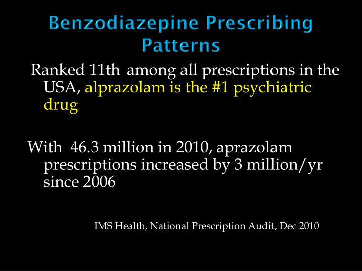 Benzodiazepine Prescribing Patterns