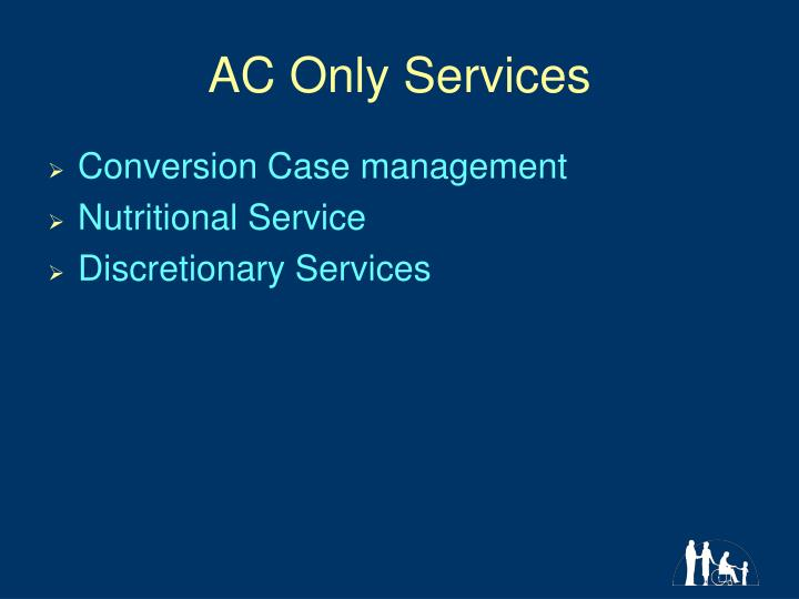 AC Only Services