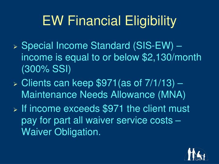 EW Financial Eligibility