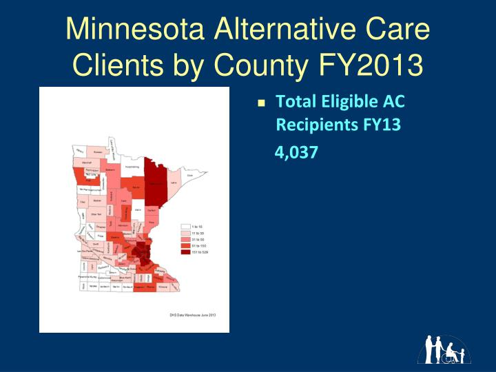 Minnesota Alternative Care Clients by County FY2013