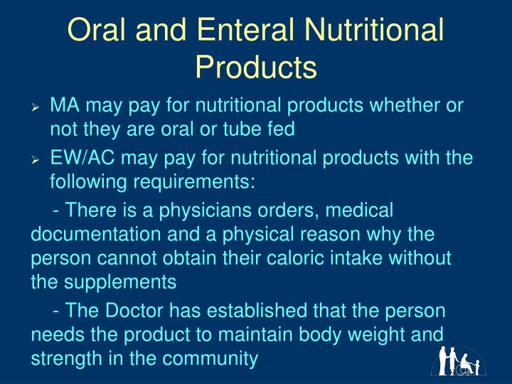 Oral and Enteral Nutritional Products