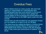 overdue fees