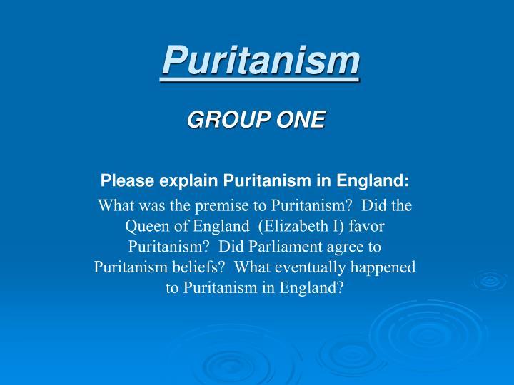 Puritanism