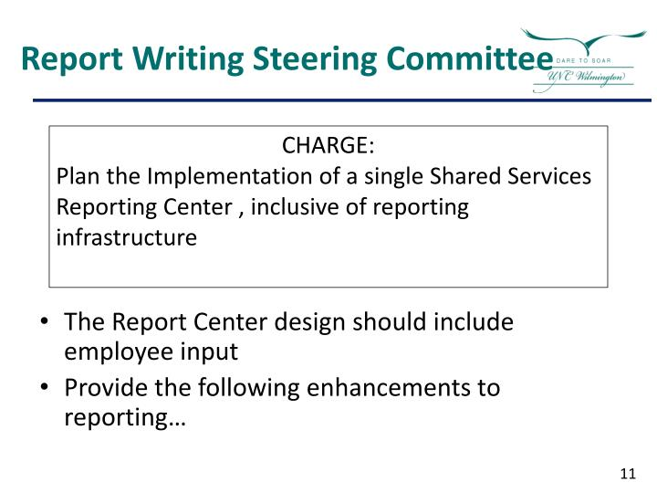 Report Writing Steering Committee