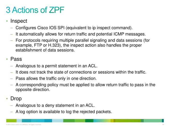 3 Actions of ZPF