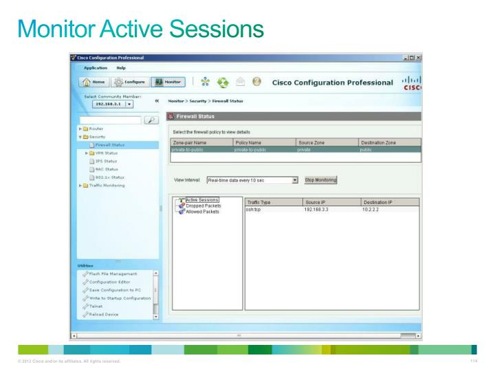 Monitor Active Sessions