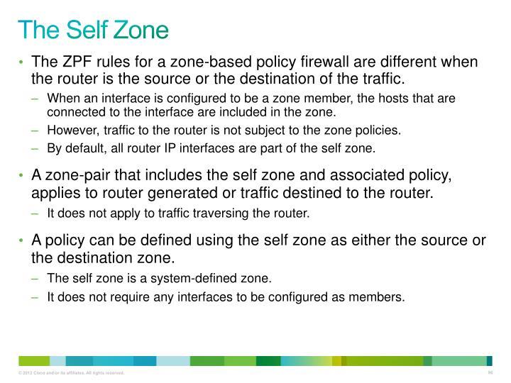 The Self Zone