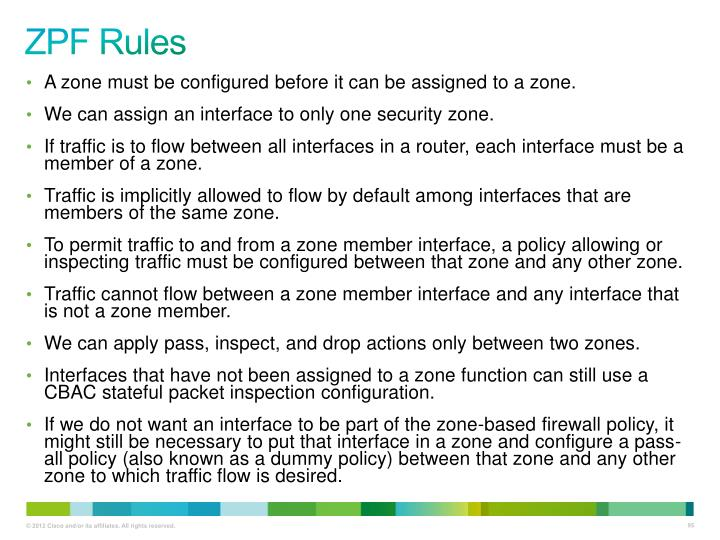 ZPF Rules
