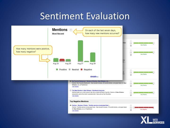 Sentiment Evaluation