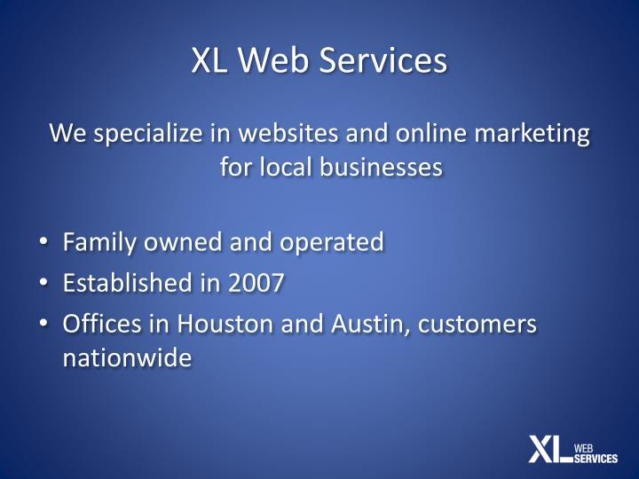 XL Web Services