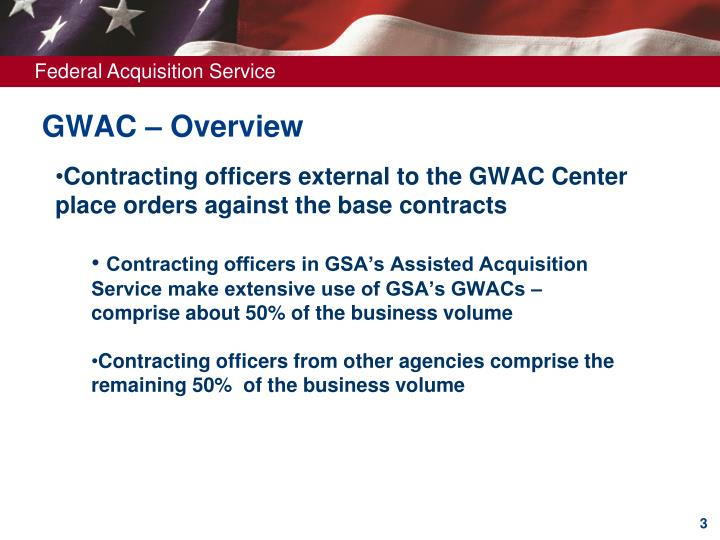 GWAC – Overview