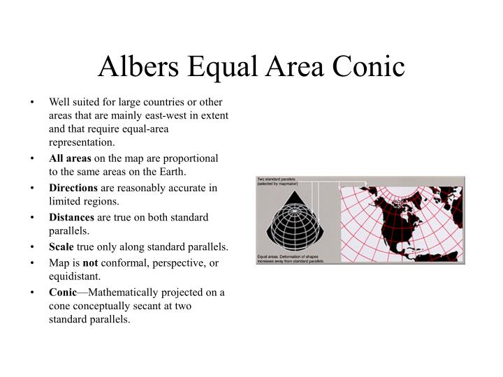 Albers Equal Area Conic