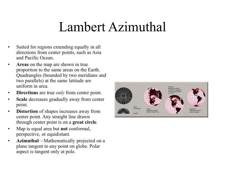 Lambert Azimuthal