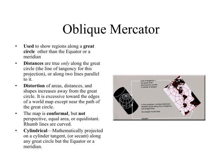 Oblique Mercator