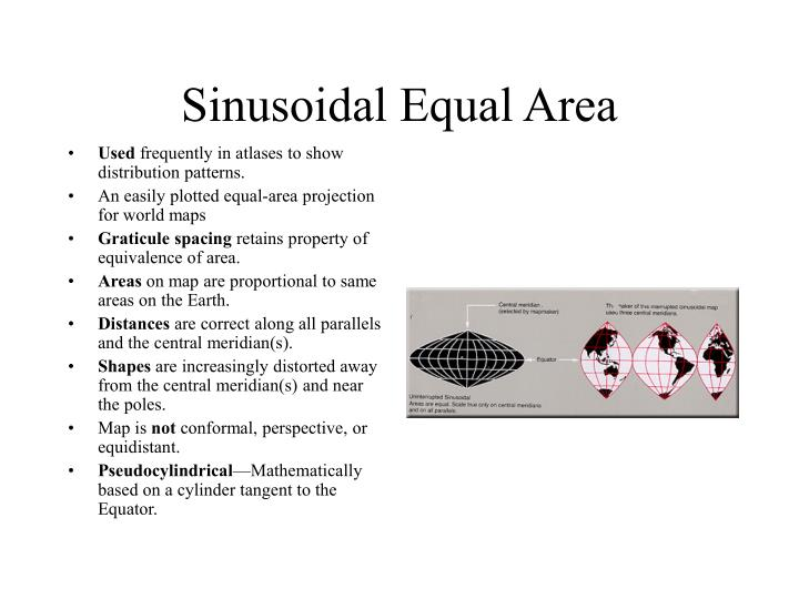 Sinusoidal Equal Area