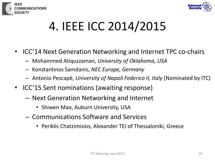 4. IEEE ICC