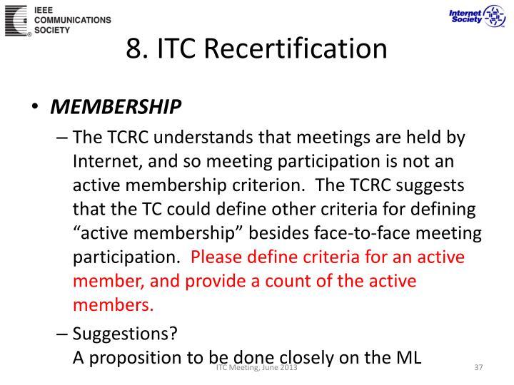 8. ITC