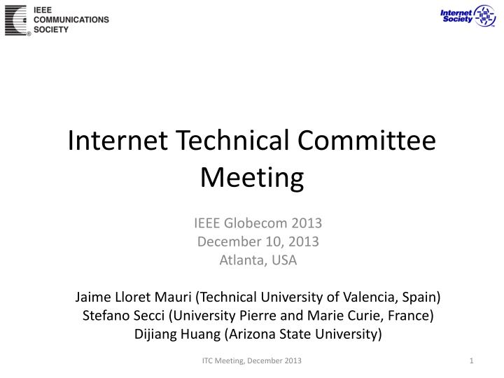 Internet Technical Committee
