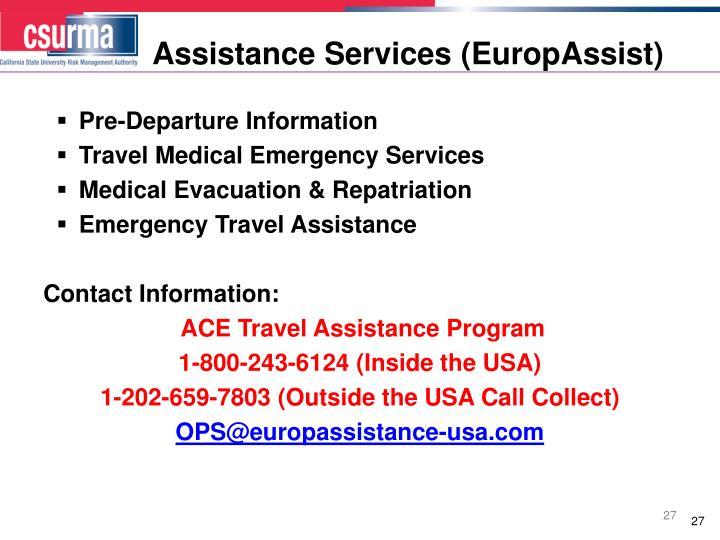 Assistance Services (