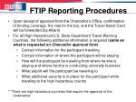 ftip reporting procedures1