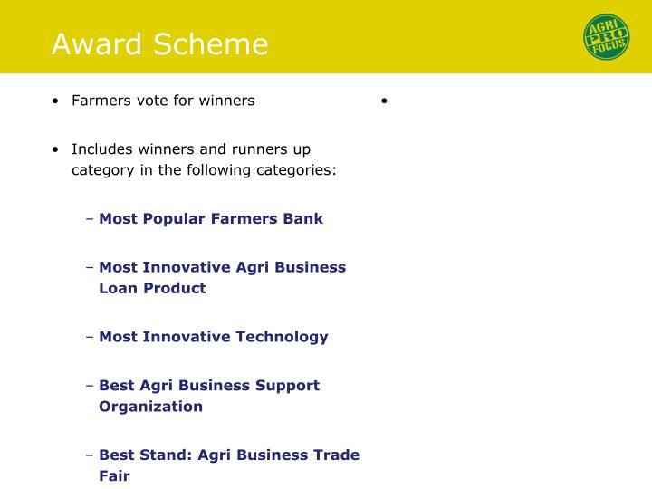 Award Scheme