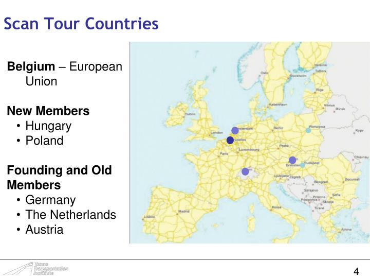 Scan Tour Countries