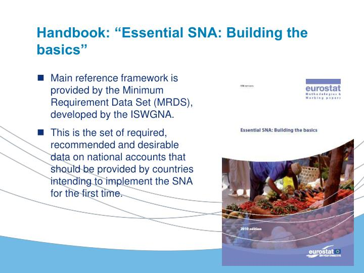 "Handbook: ""Essential SNA: Building the basics"""