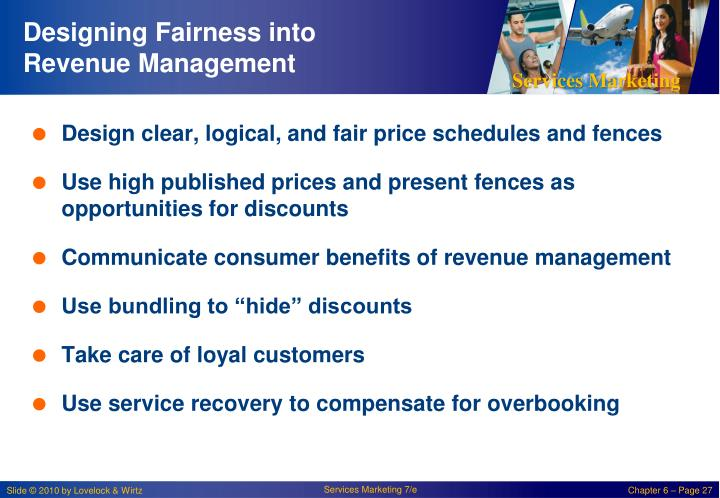Designing Fairness into