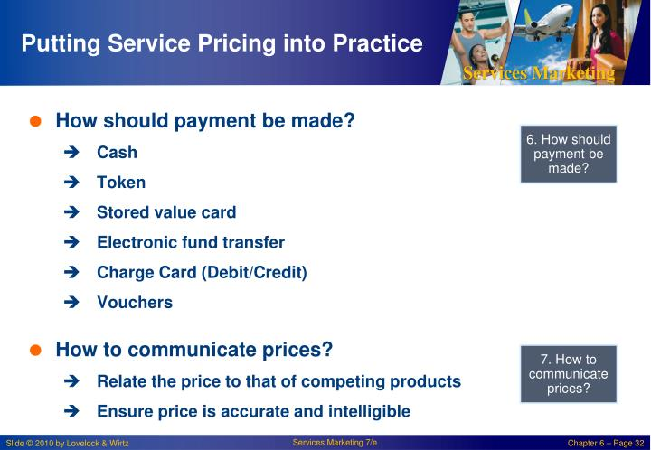 Putting Service Pricing into Practice