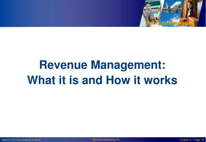 Revenue Management: